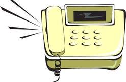 电话敲响 向量例证