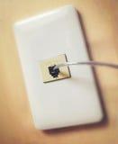电话电缆 免版税库存照片