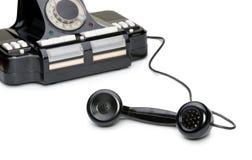 电话的古老异常分支 库存图片