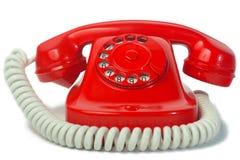 电话红色 免版税库存照片