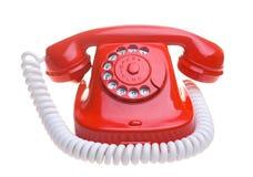 电话红色 免版税图库摄影
