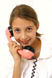 电话联系 库存图片