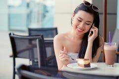 电话联系 免版税库存图片