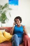 电话联系 免版税库存照片