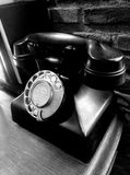 电话葡萄酒 免版税图库摄影