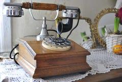 电话葡萄酒 免版税库存照片
