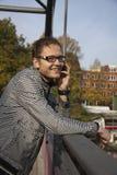 电话谈话 免版税图库摄影
