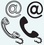 电话象 免版税图库摄影
