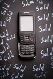 电话销售额 图库摄影
