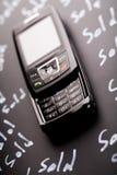 电话销售额 免版税图库摄影