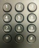 电话键盘 免版税图库摄影