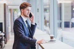 电话,营业通讯 免版税库存照片