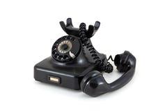 电话从五十年代 免版税库存照片