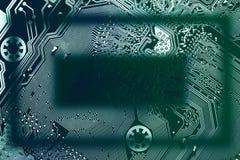 电路板框架 免版税库存照片
