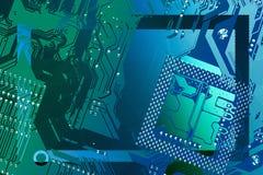 电路板框架 免版税图库摄影