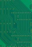 电路板,电子元件镀宏观特写镜头背景纹理,绿色垂直的织地不很细样式 库存照片