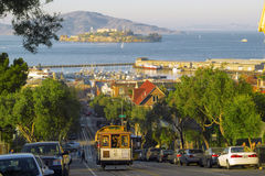 电车在旧金山 免版税图库摄影