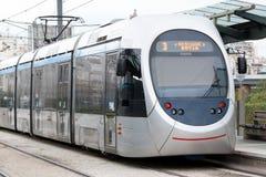 电车在雅典,希腊 免版税库存照片