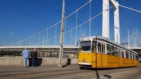 电车布达佩斯 图库摄影