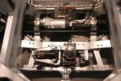 电车引擎 库存图片