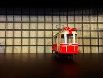 电车模型-装饰 库存照片