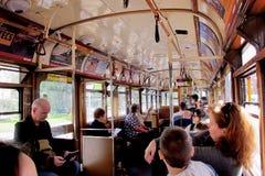 电车的悉尼人民 免版税库存照片