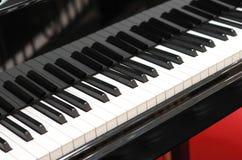 电钢琴 免版税库存照片