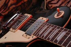 电镀吉他 图库摄影