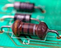 电阻器 免版税图库摄影
