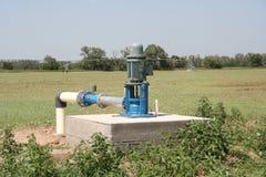 电irrigaton泵浦 免版税库存图片