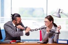 男人和妇女企业概念的 库存图片