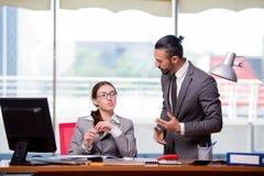 男人和妇女企业概念的 免版税库存图片