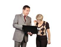 男人和妇女 免版税库存图片