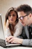 男人和妇女 免版税库存照片