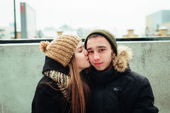 男人和妇女 库存照片