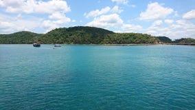 男修道士的小岛,巴西 免版税库存照片
