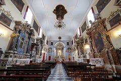 男修道士的方济会教会较小在杜布罗夫尼克 库存照片