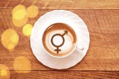 男女平等的标志 免版税库存照片