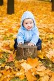 男婴使用 免版税库存图片