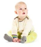 男婴毛线衣 图库摄影