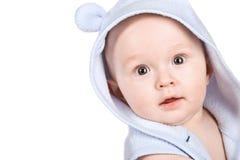 男婴纵向 图库摄影