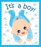 男婴 向量例证