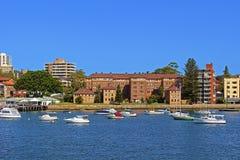 男子气概的港口,悉尼,澳大利亚 库存图片