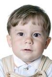 男孩一年 免版税库存图片