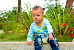 男孩儿童ï ¼ ˆAsian中国yellowï ¼ ‰ 免版税库存图片