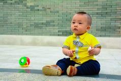 男孩儿童ï ¼ ˆAsian中国yellowï ¼ ‰ 库存照片