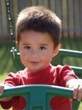 男孩儿童讲西班牙语的美国人小孩 库存照片