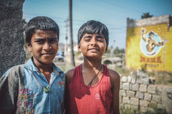 男孩印地安人二 免版税库存照片