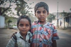 男孩印地安人二 库存图片