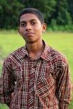 男孩印地安人 图库摄影